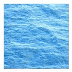 Ocean Surface Blue Sq Square Car Magnet 3