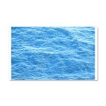 Ocean Surface Blue Sq Car Magnet 20 x 12