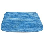 Ocean Surface Blue Sq Bathmat