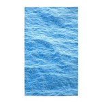 Ocean Surface Blue Sq 3'x5' Area Rug