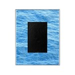 Ocean Surface Blue Sq Picture Frame