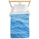 Ocean Surface Blue Sq Twin Duvet