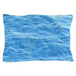 Ocean Surface Blue Sq Pillow Case