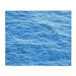 Ocean Surface Blue Sq Throw Blanket