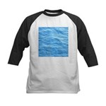Ocean Surface Blue Sq Baseball Jersey