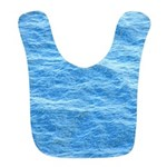 Ocean Surface Blue Sq Bib