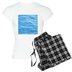 Ocean Surface Blue Sq Pajamas