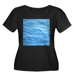Ocean Surface Blue Sq Plus Size T-Shirt