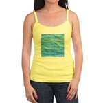 Ocean Surface Blue Sq Tank Top