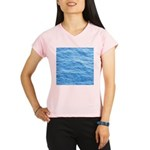 Ocean Surface Blue Sq Performance Dry T-Shirt