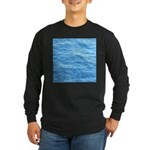Ocean Surface Blue Sq Long Sleeve T-Shirt