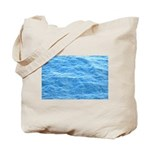 Ocean Surface Blue poster Tote Bag