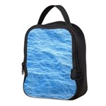 Ocean Surface Blue poster Neoprene Lunch Bag