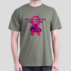 Kart Racers Look Good In Pink T-Shirt