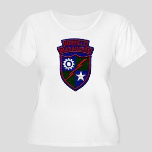 Merrill's Mar Women's Plus Size Scoop Neck T-Shirt