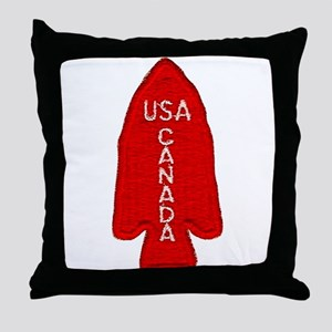 1st Special Service Force Throw Pillow