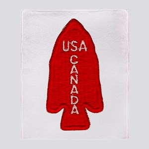 1st Special Service Force Throw Blanket