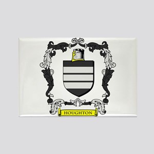 HOUGHTON Coat of Arms Rectangle Magnet