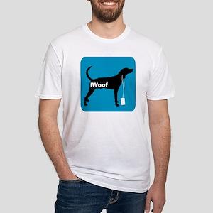 iWoof Plott Hound Fitted T-Shirt