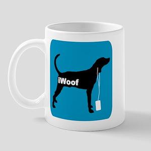 iWoof Plott Hound Mug