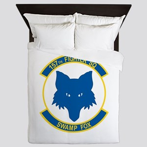 157_fighter_SWAMP_FOX Queen Duvet