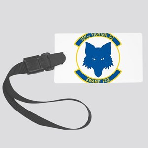 157_fighter_SWAMP_FOX Large Luggage Tag