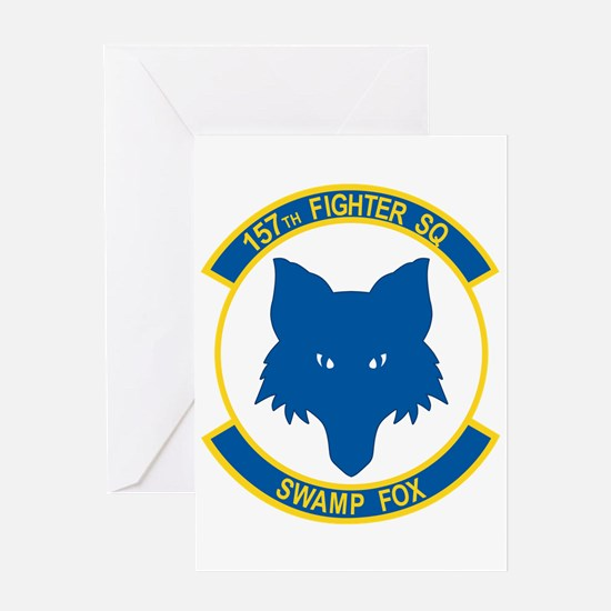 157_fighter_SWAMP_FOX Greeting Cards