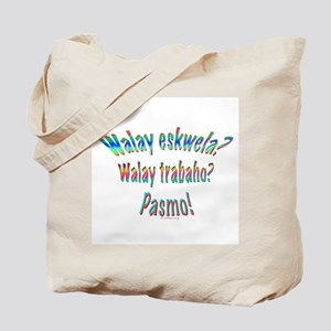 Walay Eskwela in Colour Tote Bag