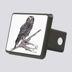 Southern Boobook Owl Rectangular Hitch Cover