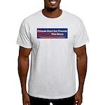 Vote Bush Ash Grey T-Shirt