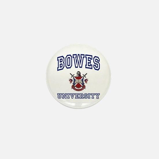 BOWES University Mini Button