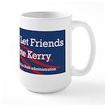 Vote Bush Large Mug