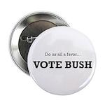 Vote Bush Button