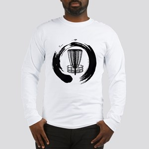 Zen Disc Golf Logo Long Sleeve T-Shirt