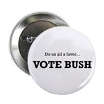 "Vote Bush 2.25"" Button (100 pack)"