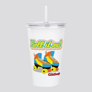 Roll it Out Acrylic Double-wall Tumbler