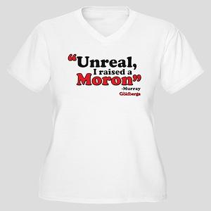 Unreal Women's Plus Size V-Neck T-Shirt