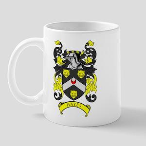 HAYES Coat of Arms Mug