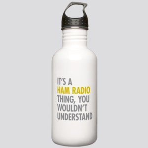 Its A Ham Radio Thing Stainless Water Bottle 1.0L