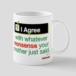 I Agree Mug