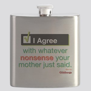 I Agree Flask