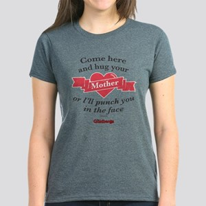 Hug Your Mother Women's Dark T-Shirt