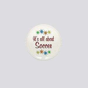 About Soccer Mini Button