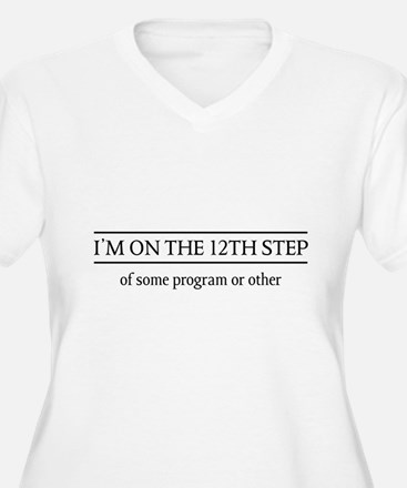 I'm on the 12th step of some program or other Plus