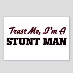 Trust me I'm a Stunt Man Postcards (Package of 8)