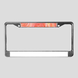 Rose 2014-0932 License Plate Frame