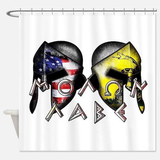 Molon Labe By American Patriots Shower Curtain
