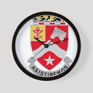 9th Army Engineer Battalion Military Pa Wall Clock