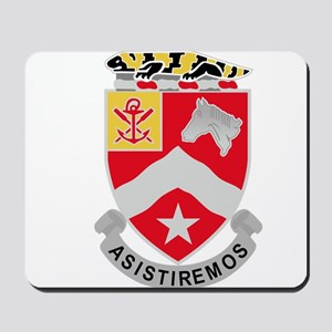9th Army Engineer Battalion Military Pat Mousepad
