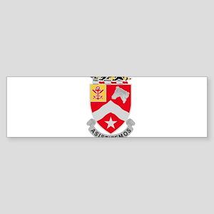 9th Army Engineer Battalion Militar Bumper Sticker